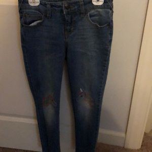 Girl's Jeans with unicorn knee